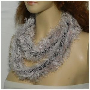 Accessories - Scarf, circle, multiple wrap around styles. Knit,
